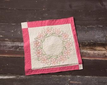 Vintage Quilt Layering Piece