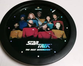 Star Trek TNG Clock