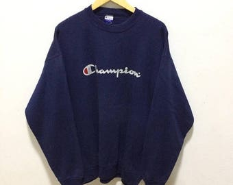 Champion sweatshirt | Etsy
