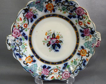 A Charles Meigh & Son Dessert Plate (Pattern 2370)