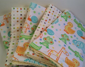 Bundle of 5 Burp Cloths