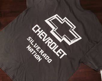 Silverado Nation tshirt
