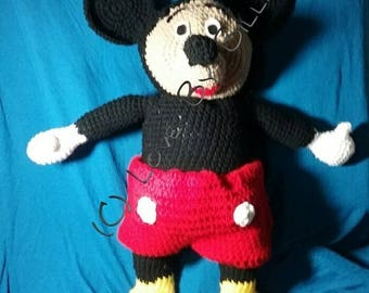 Crochet Mickey Mouse