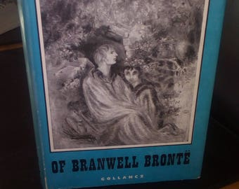 First edition Daphne Du Maurier, The Infernal World of Branwell Bronte, 1960, biography of tormented soul who died young, Bronte brother