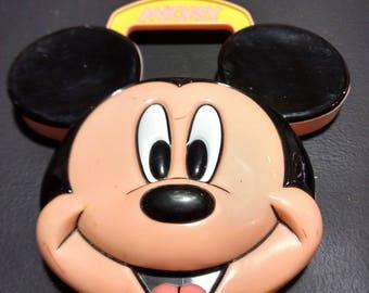 Vintage Mickey Mouse Crayon Box 1970's