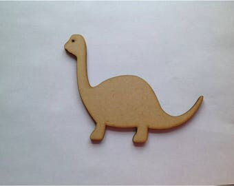 10 Wood Craft Shaped Dinosaurs