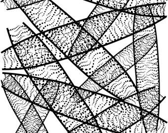 Silk screen  stencil No. 3
