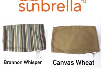 Sunbrella Outdoor Lumbar Pillow Covers