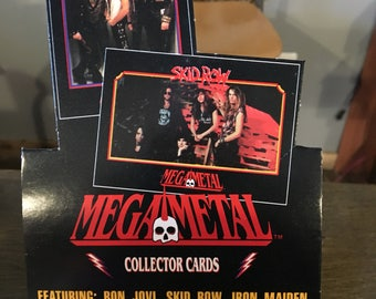Mega Metal trading cards