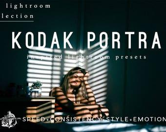 Lightroom Presets Kodak Portra Film Emulation Filters by Filter Collective