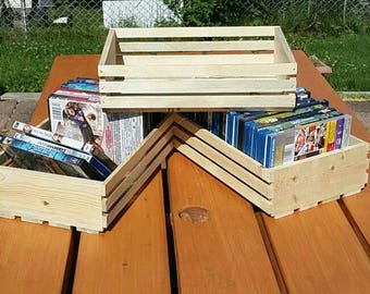 DVD or Blueray crate unfinished and rough