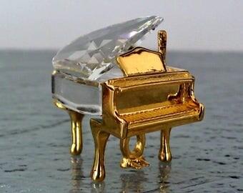 SWAROVSKI Crystal Memories-Classic Grand Piano-Swarovski Grand Piano-Vintage Crystal-Swarovski Piano-Swarovski Crystals-Silver Bay Crystals
