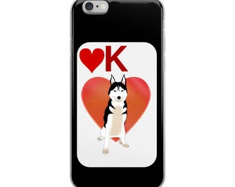 Husky Lover iPhone Case - Iphone 7 case - Iphone 8 case - Iphone 7 plus case - Iphone 6 case - Iphone X case