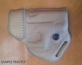 Small Of Back, OWB Leather Holster