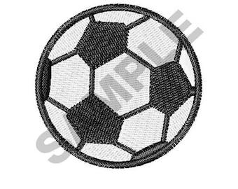Soccer Ball - Machine Embroidery Design