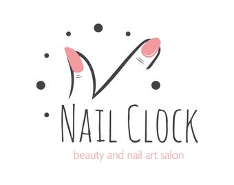 beauty salon logo custom logo design jewels logo boho logo design unique - Nail Salon Logo Design Ideas