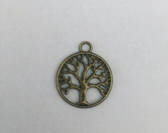 Tree of Life Charm and Necklace