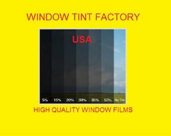 "professional window tint Uncut by the roll Medium  35%  20"" 24"" 30"" 36"" 40"" 60"" x 100 feet"
