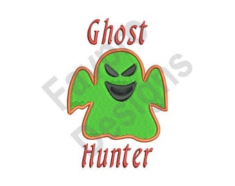 Ghost Hunter - Machine Embroidery Design