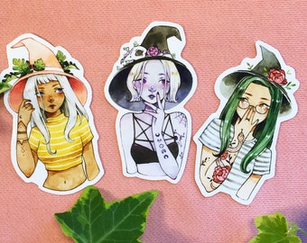 Witch stickers!