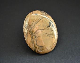 Sengilite natural stone cabochon  51 x 40 x 6 mm