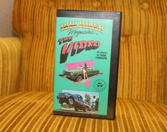 Lowrider Video 1990 Magazine VHS Vintage Footage Model Bikini Contest