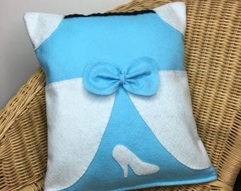Disney Inspired Cinderella Small Cushion