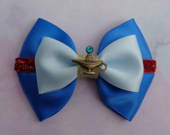 Genie Bow | Genie Inspired | Aladdin Inspired | Genie Hair Bow | Disney Inspired Hair Bow