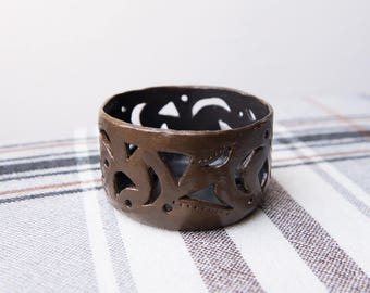 Candle holder made in ancient style