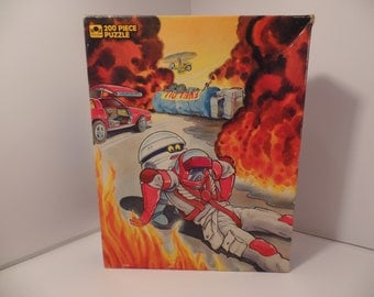 1980's M.A.S.K. Puzzle - 100% COMPLETE Kenner