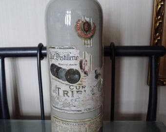 French Ceramic bottle