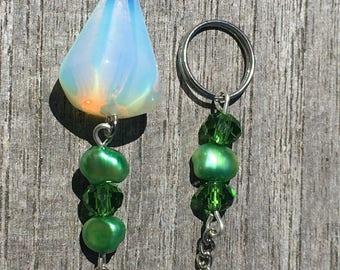 Beautiful Pearl And Opalite Pendulum