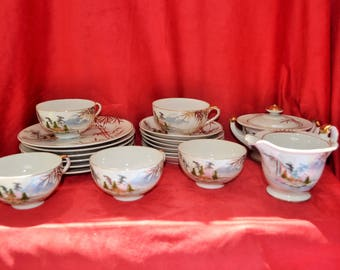 Coffee nature decor Asian first half of 20th century
