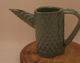 Hand Built Pottery Pitcher