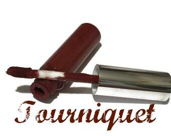 Tourniquet Liquid Lipstick, Liquid to Matte Lipstick, Transfer-Proof, Vegan and Cruelty Free Cosmetics, Red Lipstick, Goth Lipstick