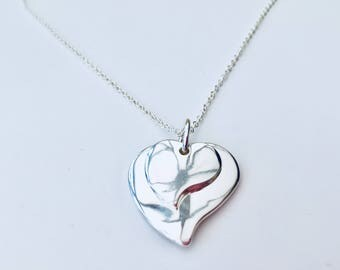 Stunning Layered Hearts Necklace