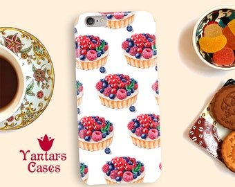 Cake iphone case Phone case tartlet Sweets iPhone case 6 Watercolor cover for iphone 5 iPhone 6s case Hard Iphone 7 case iPhone 5s cases SE