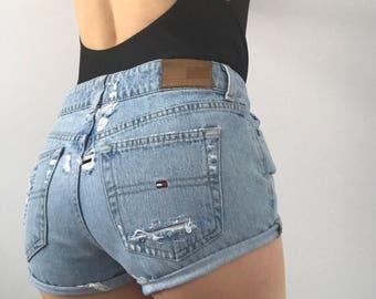 Vintage Tommy Hilfiger Cutoff Shorts