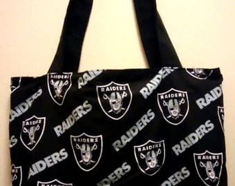 Raiders Tote Bag