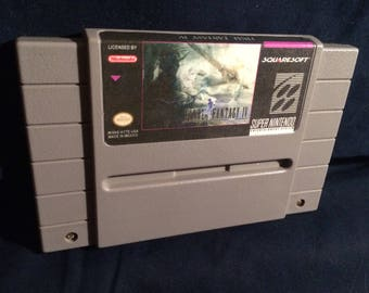 Final Fantasy 4 English Translation SNES Game