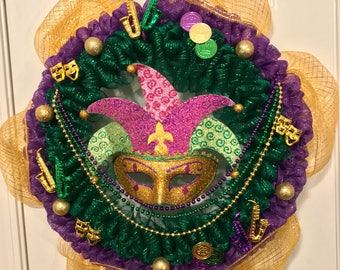 Carnival Time Wreath