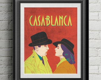 "Casablanca 8""x10"" Print"