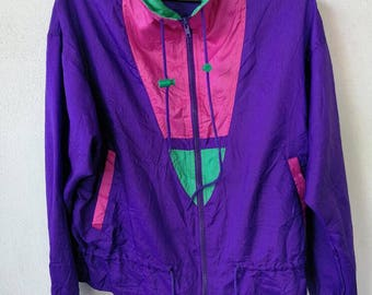 Vintage 80s G-4000 windbreaker panel M