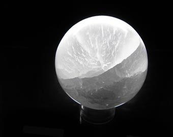 Selenite Sphere  Crystal  Ball   Gazing Ball
