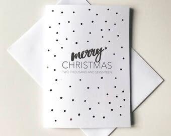 Greeting Card - Christmas / Merry Christmas 2017
