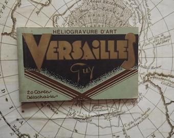 Ancien Album Français de 10 cartes postales de Versailles - Art Heliogravure Paris