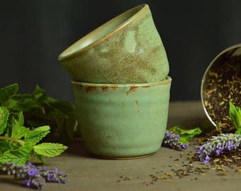 Green Tea Cups (2)