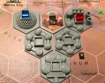 Terraforming Mars City Tiles (5)