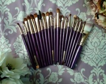Detail Make Up Brushes 20 PC Set / make up brush set / cut crease / eye glitter / wing / slay all day
