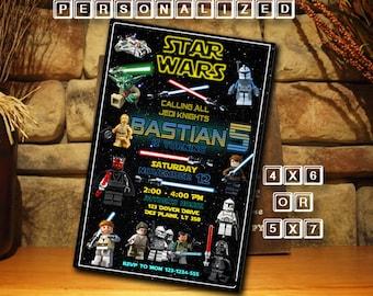 Star Wars Star Wars Invitation Star Wars Birthday Star Wars Birthday Invitation Star Wars Party Invitation Star Wars Party FD